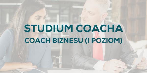 Studium Coacha Coach Biznesu
